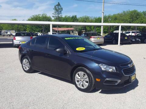 2016 Chevrolet Cruze Limited for sale at Bostick's Auto & Truck Sales in Brownwood TX