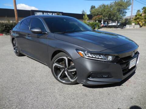 2018 Honda Accord for sale at ARAX AUTO SALES in Tujunga CA