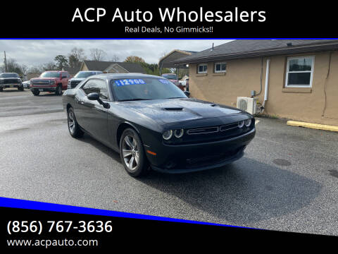 2015 Dodge Challenger for sale at ACP Auto Wholesalers in Berlin NJ