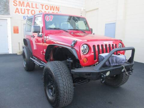 2007 Jeep Wrangler for sale at Small Town Auto Sales in Hazleton PA
