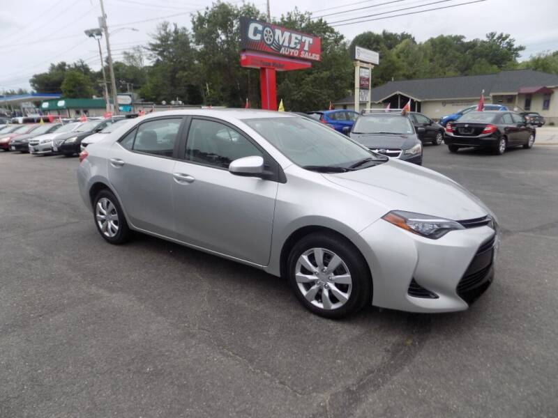 2017 Toyota Corolla for sale at Comet Auto Sales in Manchester NH