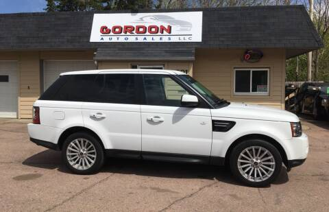 2012 Land Rover Range Rover Sport for sale at Gordon Auto Sales LLC in Sioux City IA