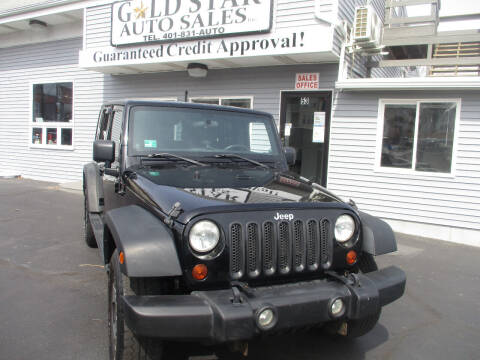 2012 Jeep Wrangler Unlimited for sale at Gold Star Auto Sales in Johnston RI