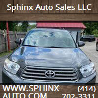 2010 Toyota Highlander for sale at Sphinx Auto Sales LLC in Milwaukee WI