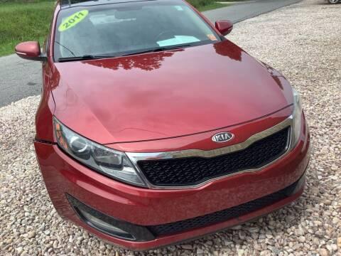 2011 Kia Optima for sale at Moose Motors in Morganton NC