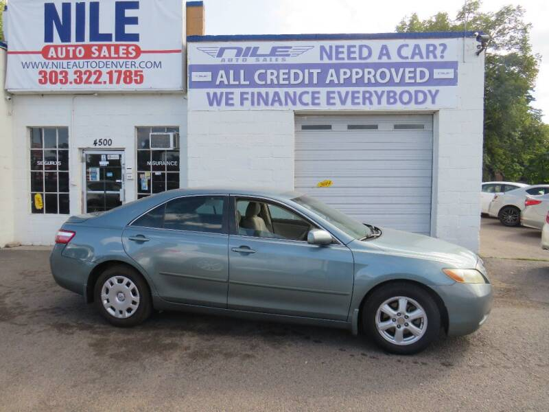 2009 Toyota Camry for sale at Nile Auto Sales in Denver CO