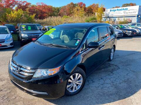 2014 Honda Odyssey for sale at Bridge Road Auto in Salisbury MA