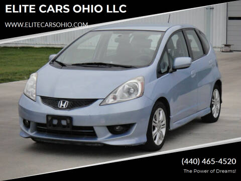 2009 Honda Fit for sale at ELITE CARS OHIO LLC in Solon OH