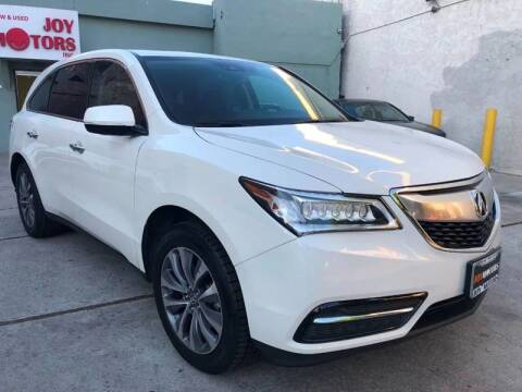 2016 Acura MDX for sale at Joy Motors in Los Angeles CA