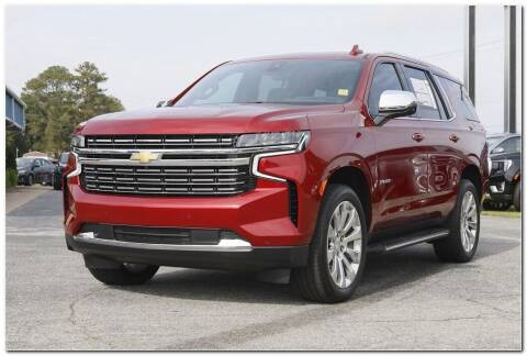 2021 Chevrolet Tahoe for sale at STRICKLAND AUTO GROUP INC in Ahoskie NC