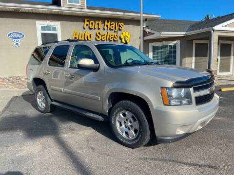 2008 Chevrolet Tahoe for sale at Fort Hays Auto Sales in Hays KS