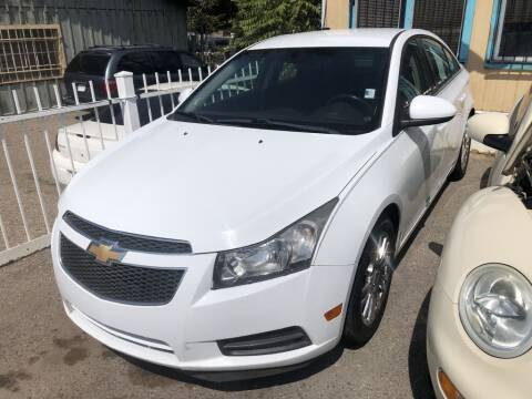 2012 Chevrolet Cruze for sale at Top Gun Auto Sales, LLC in Albuquerque NM