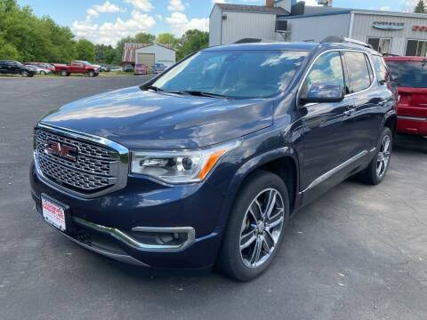 2018 GMC Acadia for sale at Louisburg Garage, Inc. in Cuba City WI