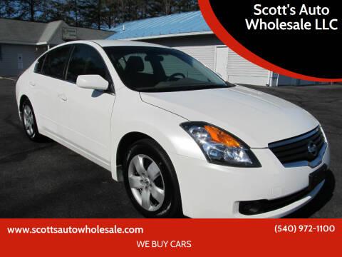 2008 Nissan Altima for sale at Scott's Auto Wholesale LLC in Locust Grove VA