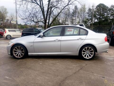 2011 BMW 3 Series for sale at On The Road Again Auto Sales in Doraville GA