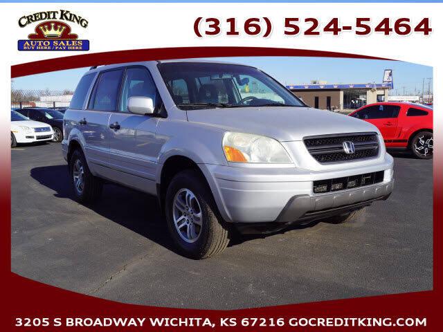 2004 Honda Pilot for sale at Credit King Auto Sales in Wichita KS