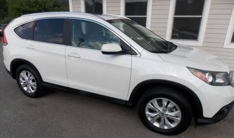 2012 Honda CR-V for sale at Bachettis Auto Sales in Sheffield MA