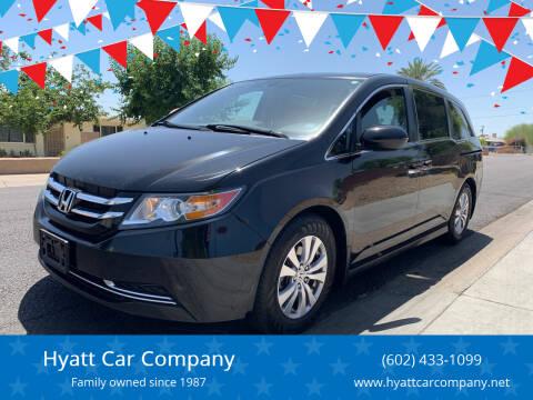 2014 Honda Odyssey for sale at Hyatt Car Company in Phoenix AZ
