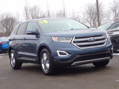 2018 Ford Edge for sale at Szott Ford in Holly MI