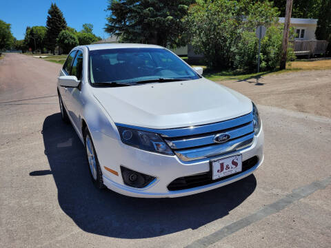 2012 Ford Fusion for sale at J & S Auto Sales in Thompson ND