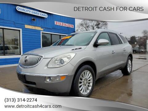 2008 Buick Enclave for sale at Detroit Cash for Cars in Warren MI