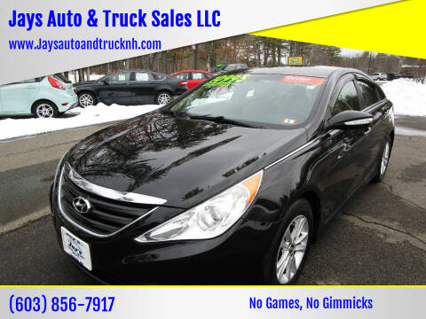 2014 Hyundai Sonata for sale at Jays Auto & Truck Sales LLC in Loudon NH