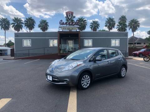 2015 Nissan LEAF for sale at Barrett Auto Gallery in San Juan TX