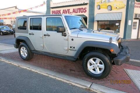 2007 Jeep Wrangler Unlimited for sale at PARK AVENUE AUTOS in Collingswood NJ