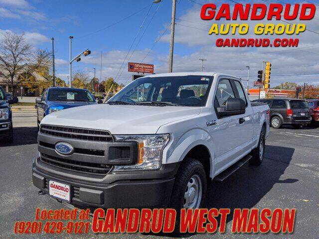2018 Ford F-150 for sale at GANDRUD CHEVROLET in Green Bay WI