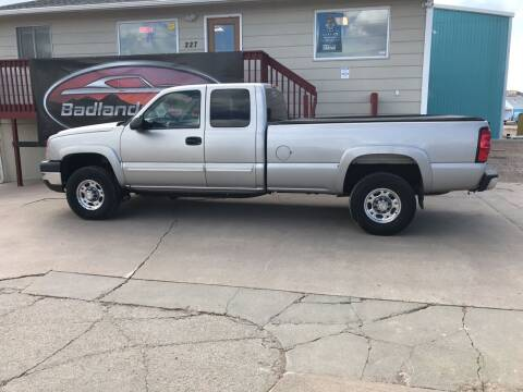 2005 Chevrolet Silverado 2500HD for sale at Badlands Brokers in Rapid City SD