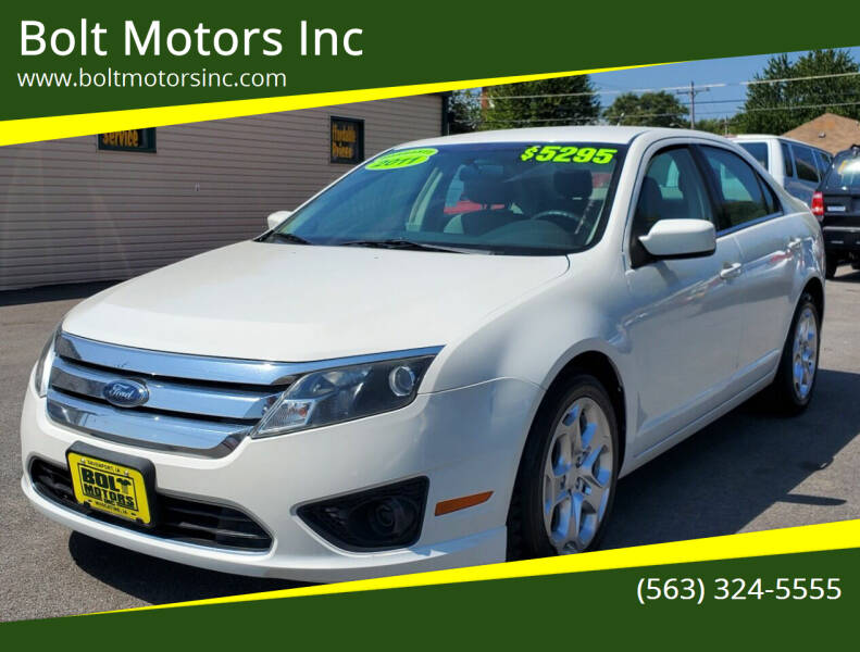 2011 Ford Fusion for sale at Bolt Motors Inc in Davenport IA