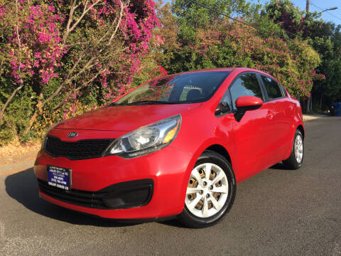 2013 Kia Rio for sale at Valley Coach Co Sales & Lsng in Van Nuys CA