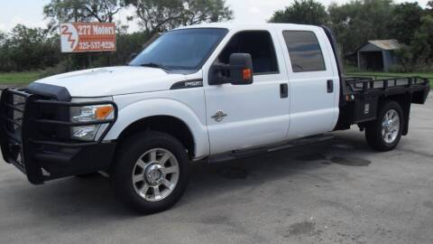 2012 Ford F-250 Super Duty for sale at 277 Motors in Hawley TX
