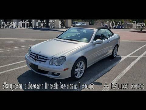 2006 Mercedes-Benz CLK for sale at Auto Advantage in Escondido CA