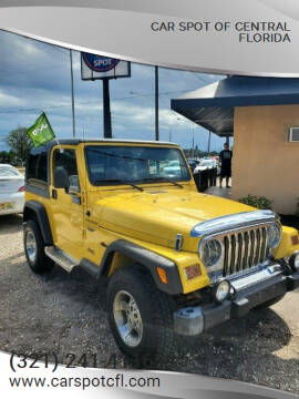 2002 Jeep Wrangler for sale at Car Spot Of Central Florida in Melbourne FL