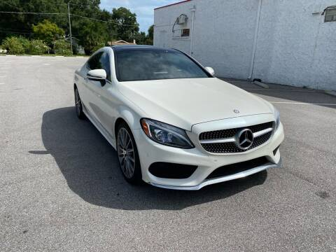 2017 Mercedes-Benz C-Class for sale at LUXURY AUTO MALL in Tampa FL