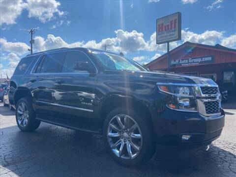 2019 Chevrolet Tahoe for sale at HUFF AUTO GROUP in Jackson MI