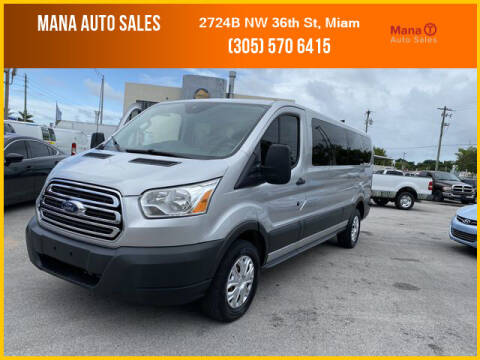 2016 Ford Transit Passenger for sale at MANA AUTO SALES in Miami FL