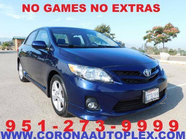 2012 Toyota Corolla for sale in Norco, CA