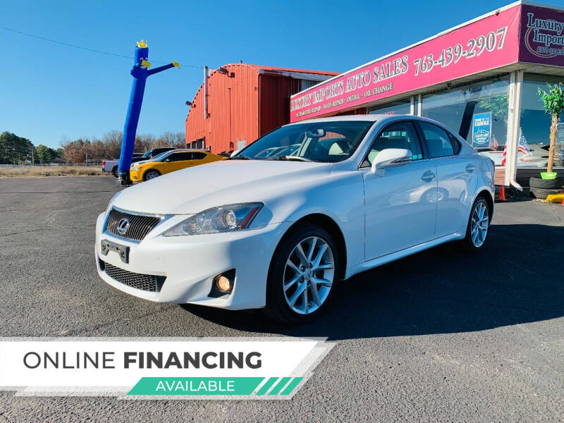 2013 Lexus IS 250 for sale at LUXURY IMPORTS AUTO SALES INC in North Branch MN