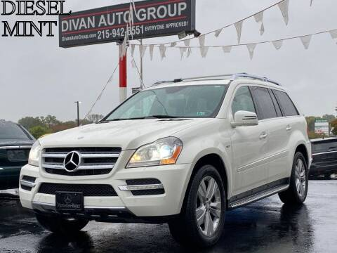 2012 Mercedes-Benz GL-Class for sale at Divan Auto Group in Feasterville PA