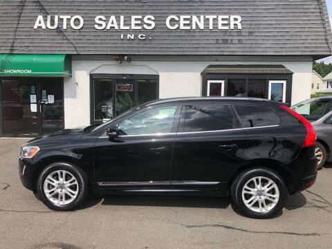 2015 Volvo XC60 for sale at Auto Sales Center Inc in Holyoke MA