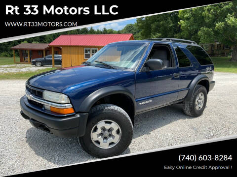 2003 Chevrolet Blazer for sale at Rt 33 Motors LLC in Rockbridge OH