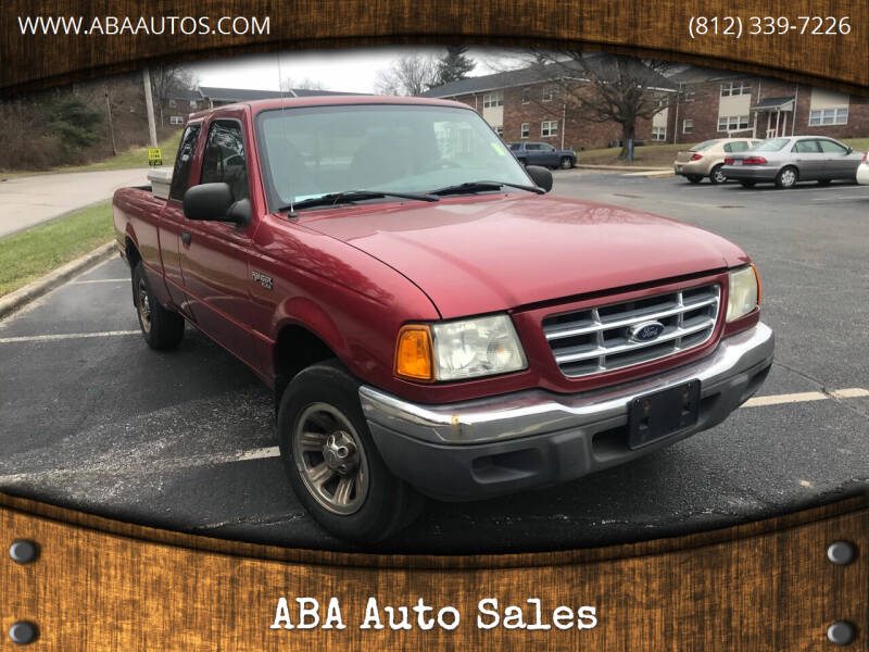 2002 Ford Ranger for sale at ABA Auto Sales in Bloomington IN