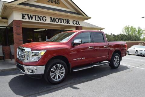 2019 Nissan Titan for sale at Ewing Motor Company in Buford GA