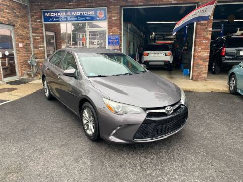 2015 Toyota Camry for sale at Michaels Motor Sales INC in Lawrence MA