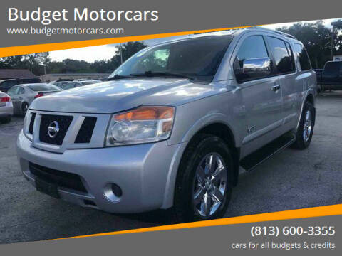 2009 Nissan Armada for sale at Budget Motorcars in Tampa FL