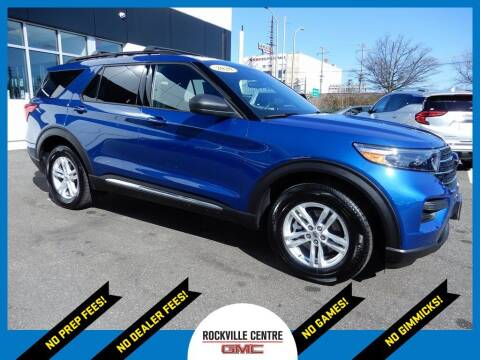 2020 Ford Explorer for sale at Rockville Centre GMC in Rockville Centre NY