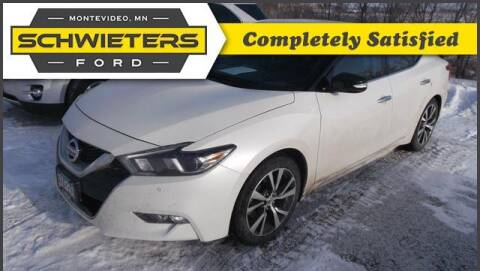 2017 Nissan Maxima for sale at Schwieters Ford of Montevideo in Montevideo MN