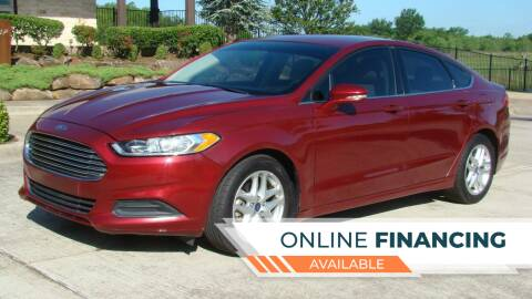 2013 Ford Fusion for sale at Red Rock Auto LLC in Oklahoma City OK